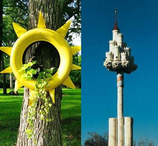 солнце и замок
