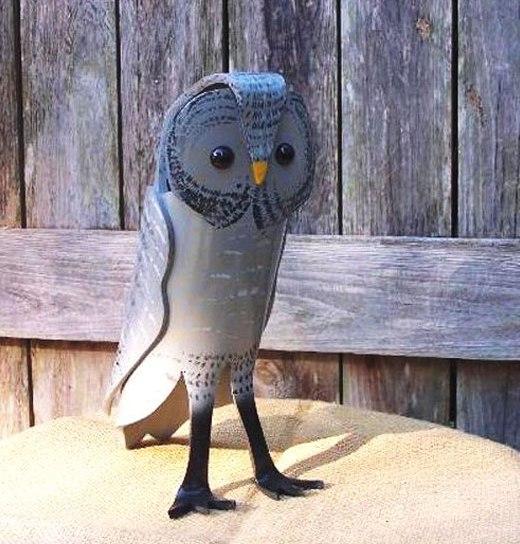 сова фигурка