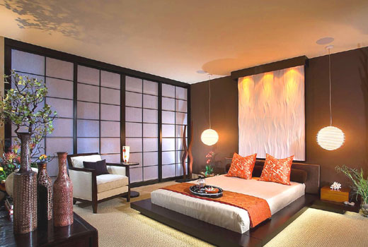 японский стиль освещение