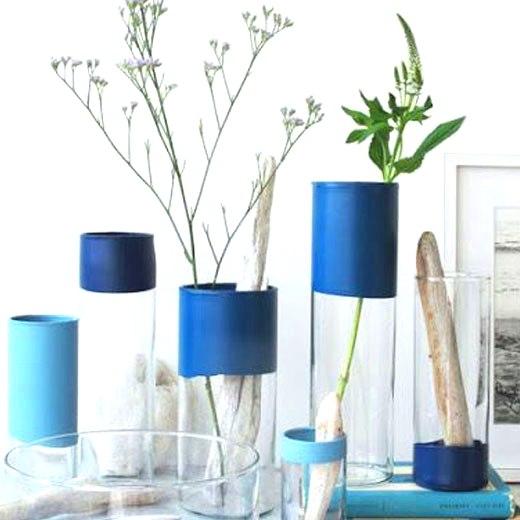 вазочки из стаканов