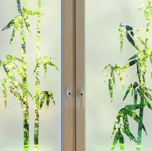 стикер бамбук