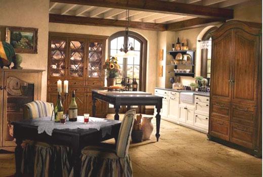 кухня в провансе