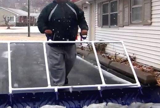 рама для уборки снега