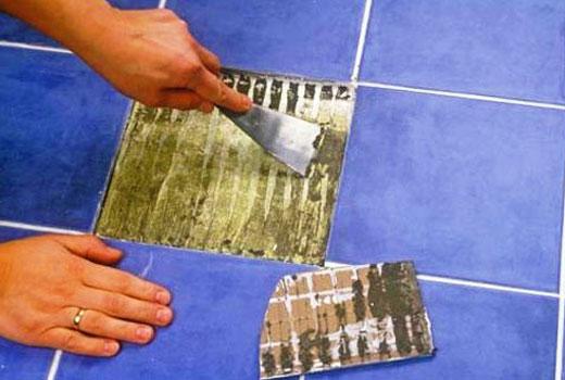 установка плитки в ванную
