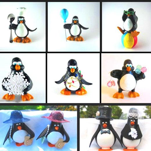 варианты пингвинов на елку