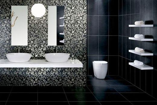 узор облицовка ванной
