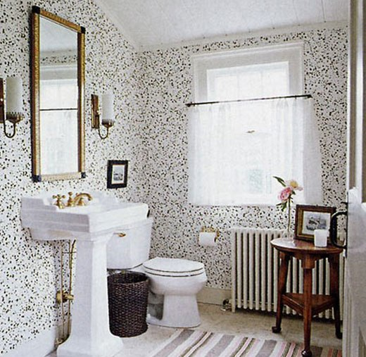ванная обои стойкие
