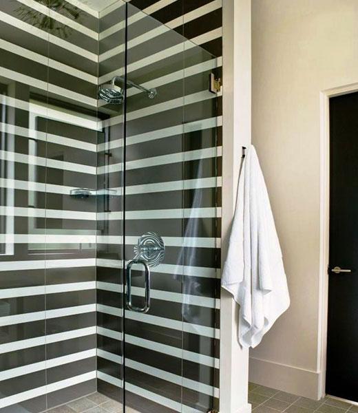 душ в ванной