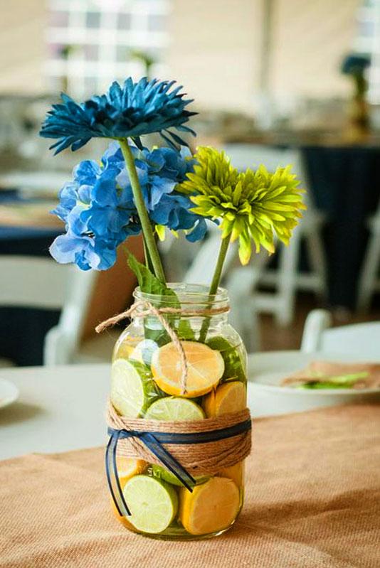 цитрусовая ваза
