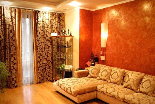 маленькая гостиная в восточном стиле