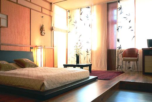 японский стиль спальня