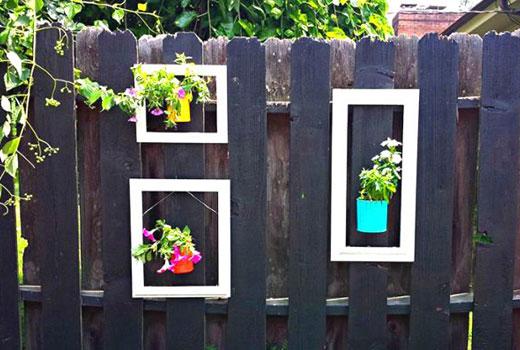 картины на заборе