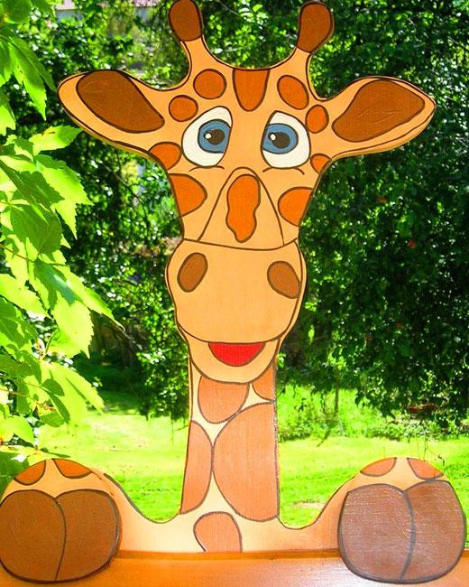 жираф из фанеры