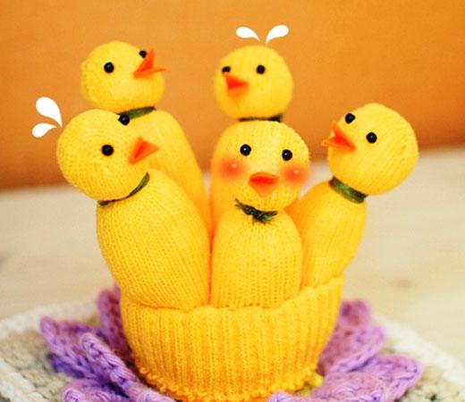 цыплятки готовы
