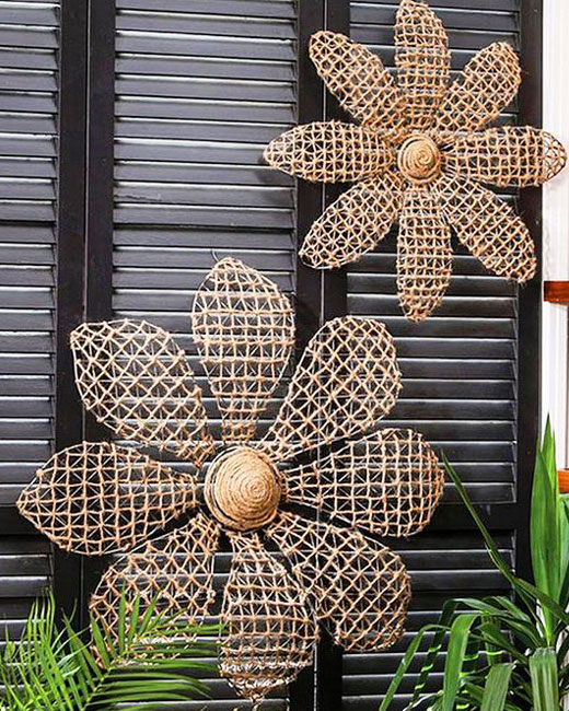 цветы из сетки