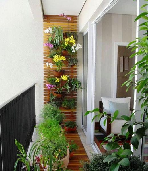 цветы крепление на балконе
