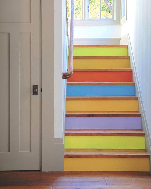 красивые ступени лестницы